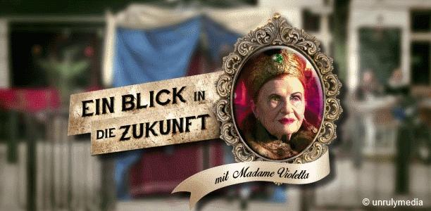 """-sponsored video- """"DGB"""" präsentiert """" Ein Blick in die Zukunft – mit Madame Violetta"""""""